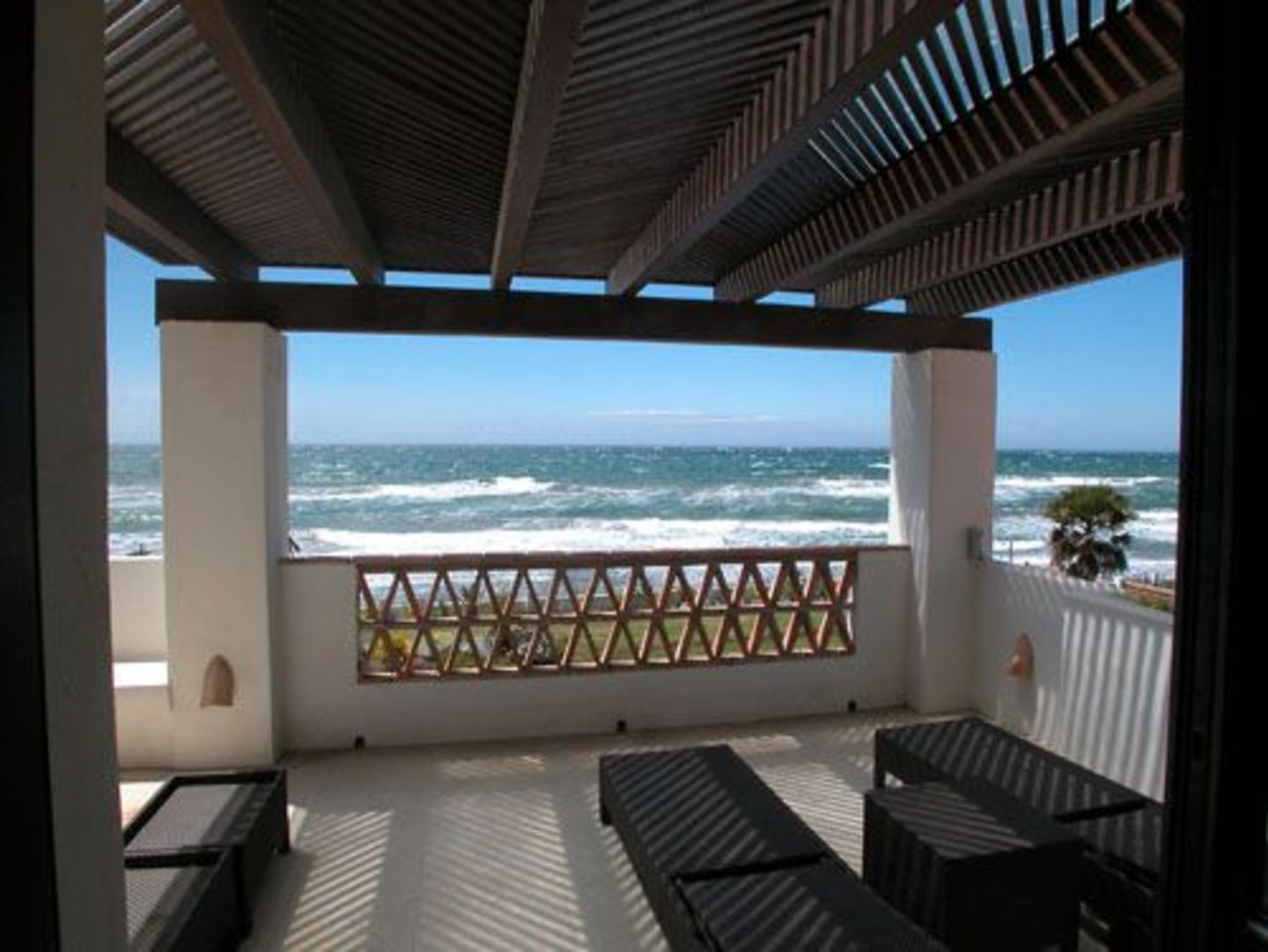 Luxury holiday accommodation first line beach